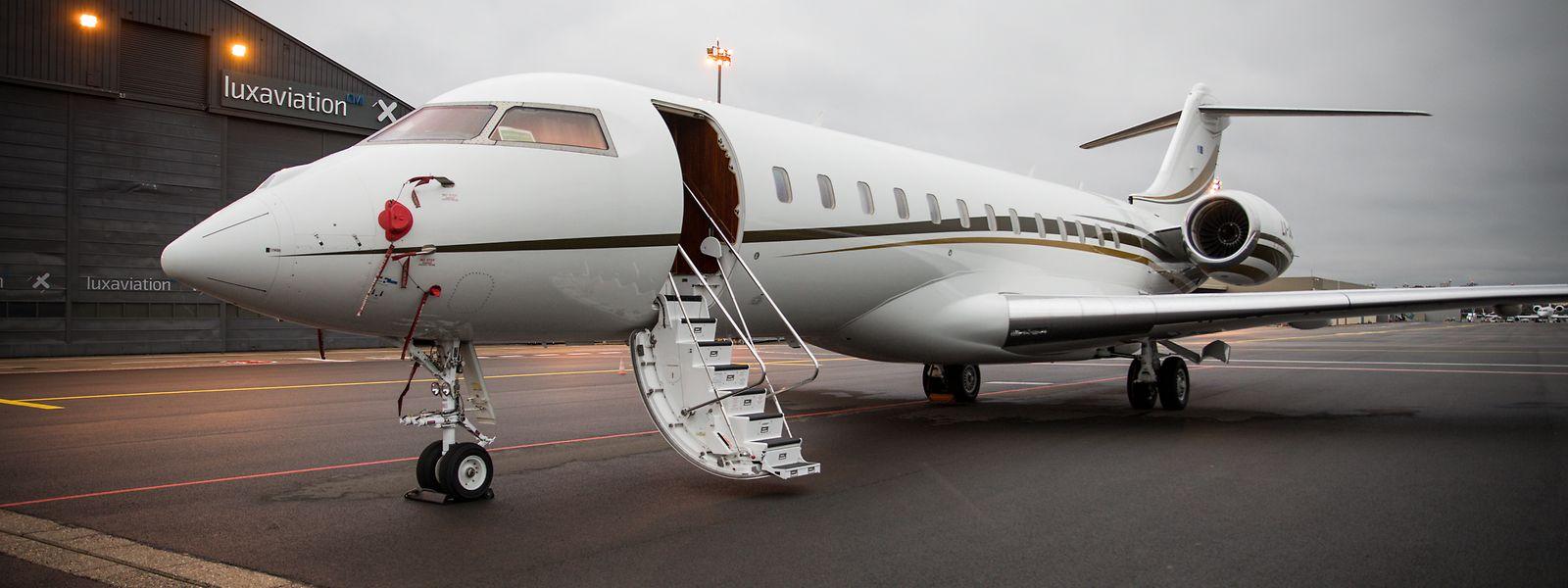 Luxaviation verfügt über eine Flotte von 250 Jets weltweit. Erstmals in der Firmengeschichte standen sie nun alle an einem Tag am Boden.