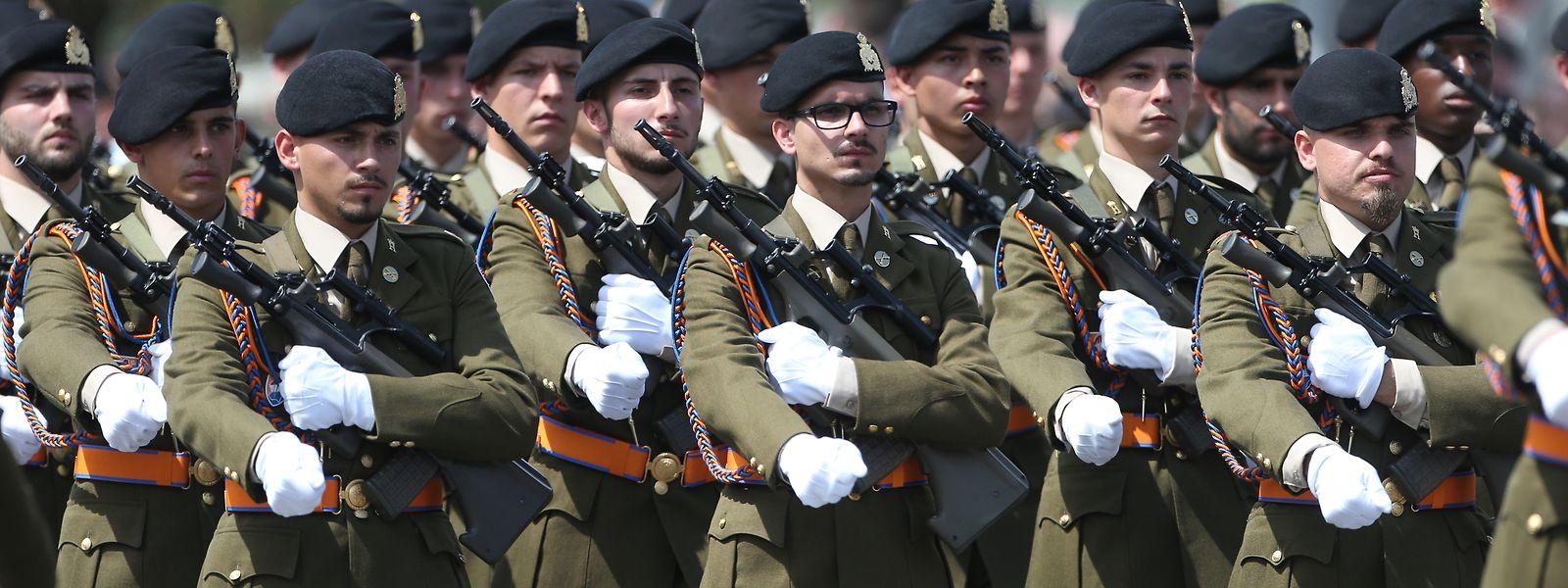L'armée doit devenir plus attrayante : tel est le souhait du Syndicat professionnel de la force publique (SPFP).