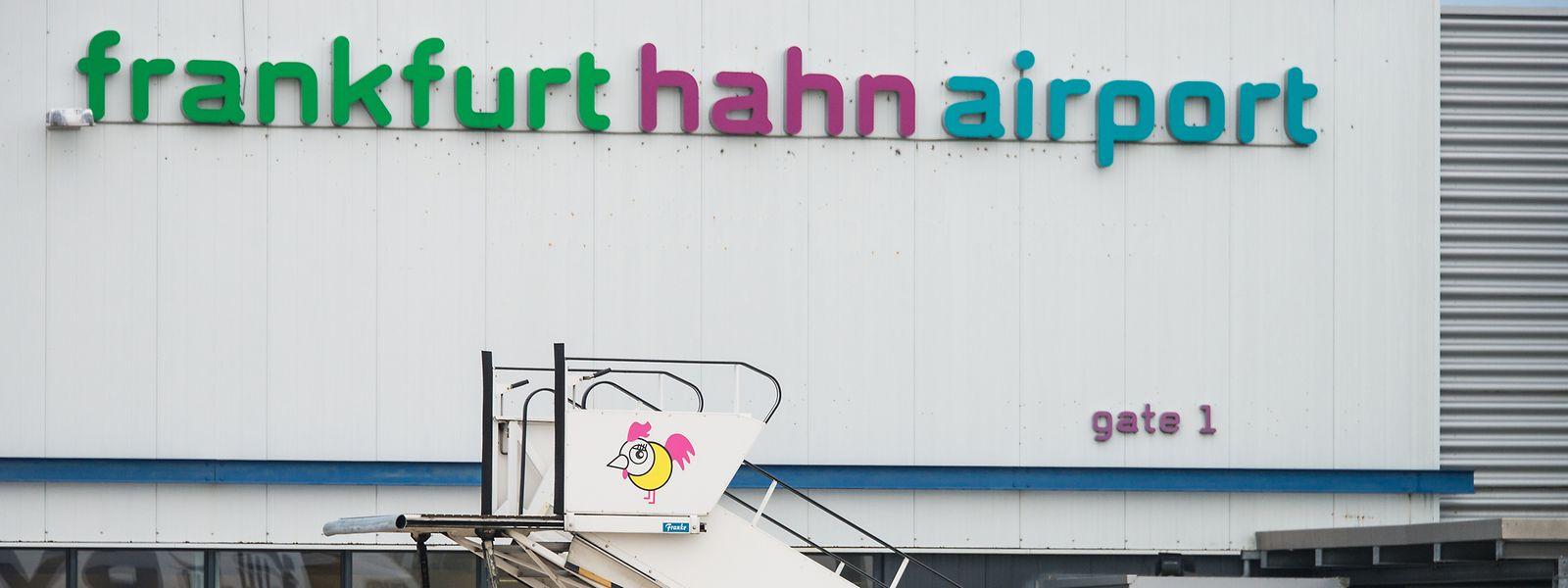 Der Flughafen Frankfurt-Hahn im Hunsrück.