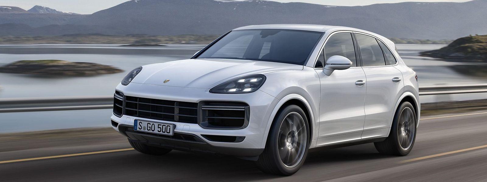 Der neue Porsche Cayenne (auf unserem Bild: Cayenne Turbo) will mit seinem weiter geschärften Charakter und innovativen Technologien für noch mehr Fahrkomfort und Fahrdynamik auch weiterhin Maßstäbe in seiner Klasse setzen.