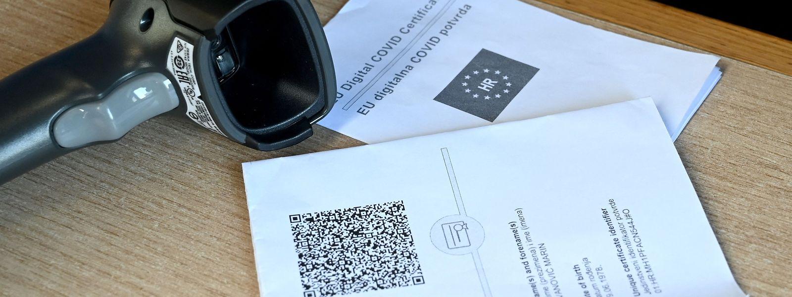 QR-Code-Scanner und das Zertifikat werden in naher Zukunft wohl den Alltag mitbestimmen.