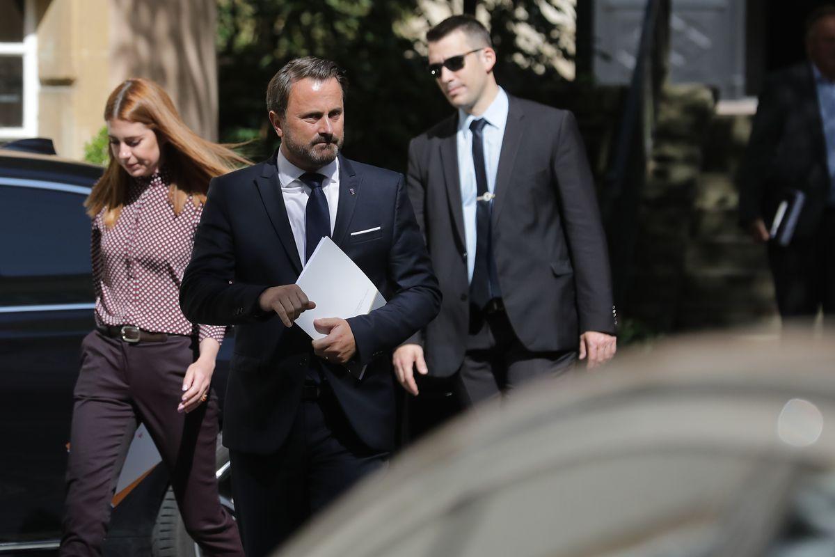 Xavier Bettel «est en contact tous les jours» avec la famille de Félix Braz qui «était et reste membre du gouvernement» a-t-il bien précisé.
