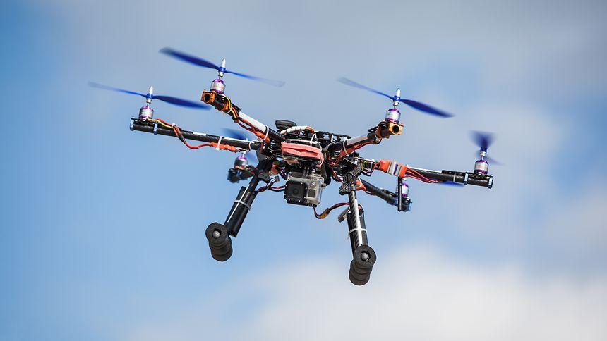 Die Landwirtschaft ist eines von vielen Einsatzfeldern der Drohnen.