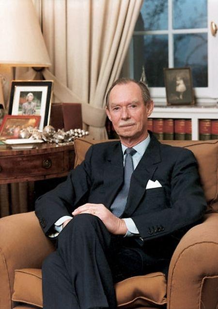 Le Grand-Duc Jean aura dirigé le Luxembourg entre 1964 et 2000.