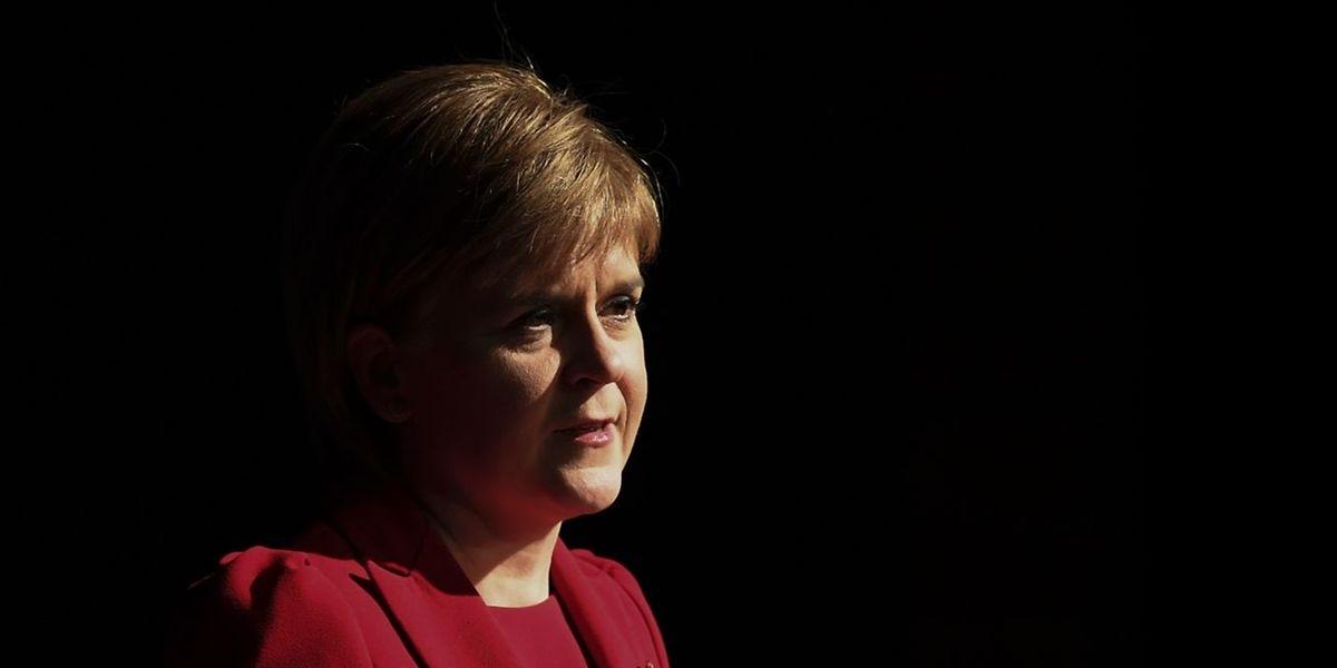 A primeira-ministra da Escócia, Nicola Sturgeon