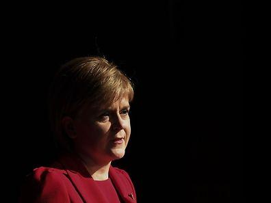 Nicola Sturgeon strebt ein zweites Referendum an.