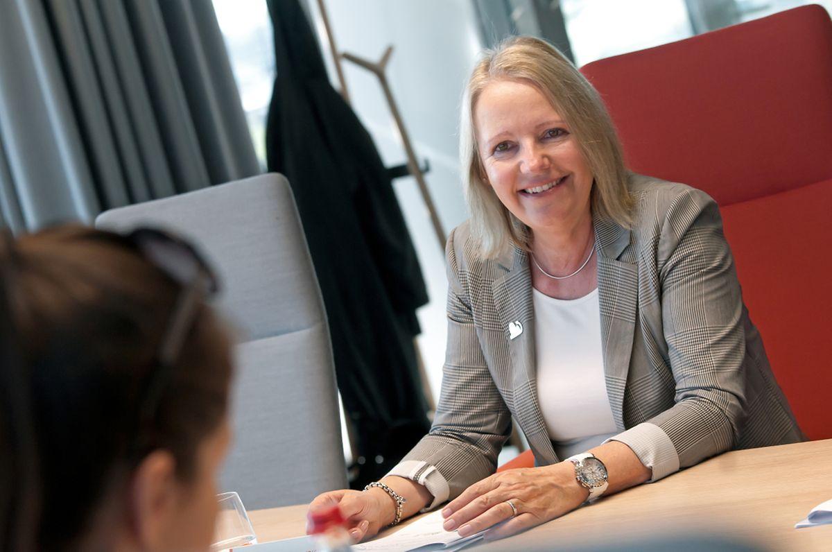 Malgré son sourire, Colette Dierick, la CEO d'ING Luxembourg n'est pas optimiste pour l'année 2019.