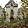 "(FILES) This file photo taken on November 3, 2017 shows a view of the ruined castle of La Mothe-Chandeniers, in Les Trois-Moutiers, central western France. Specialized in the rescue of old stones, the crowdfunding site Dartagnans.fr and the association ""Adopte un chateau"" launched at the end of October the collective takeover, via internet and by mutual agreement, of the ruined castle of La Mothe-Chandeniers ruins, for 500,000 euros. As a result, some 6,500 internet users responded to the initiative, and are now the castle's owners. / AFP PHOTO / GUILLAUME SOUVANT"