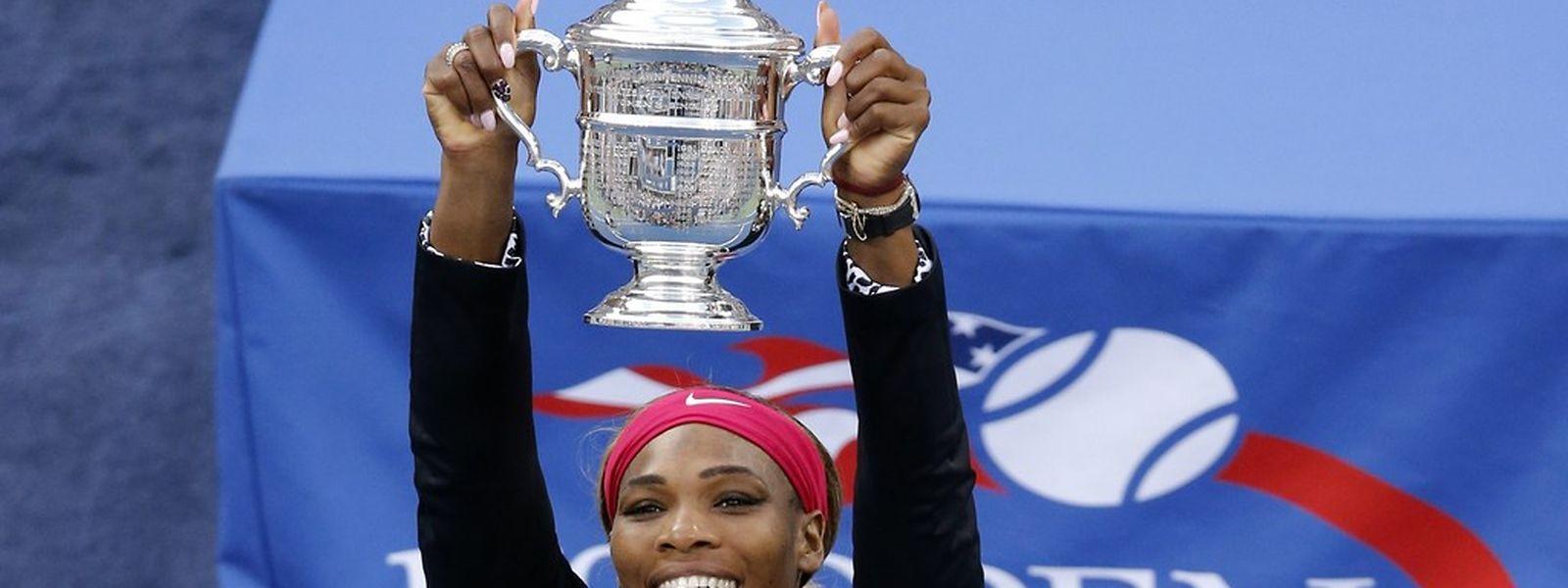 Serena Williams war bei den US Open eine Klasse für sich.