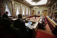 Vereidigung neue Abgeordnete und Wahl des Präsidenten , Chambre des députes - Luxemburg -Fernand Etgen - DP -  Photo : Pierre Matgé/Luxemburger Wort
