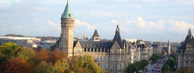 Der Finanzplatz Luxemburg.