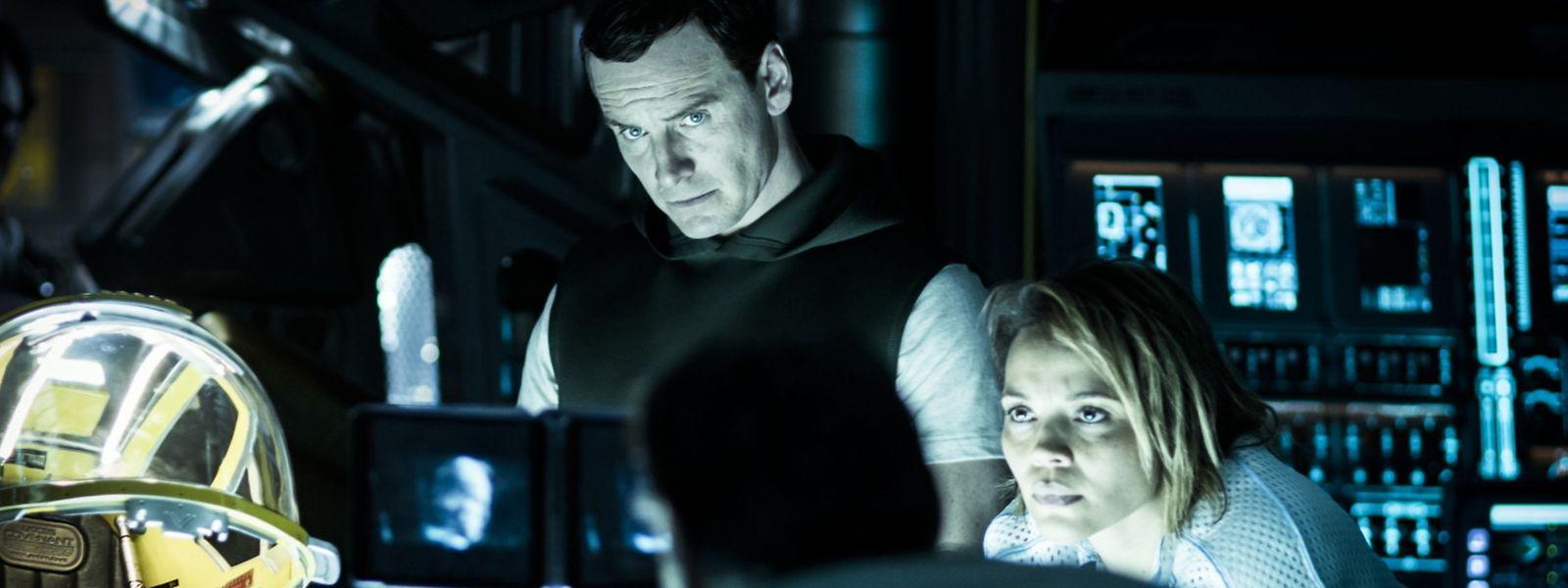 """Michael Fassbender joue encore une fois l'androïde David dans """"Alien Covenant""""."""