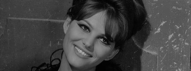 Claudia Cardinale, icône glamour des années 1960.