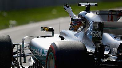 Lewis Hamilton erlebte in dieser Saison gute, aber auch einige schlechte Rennen.
