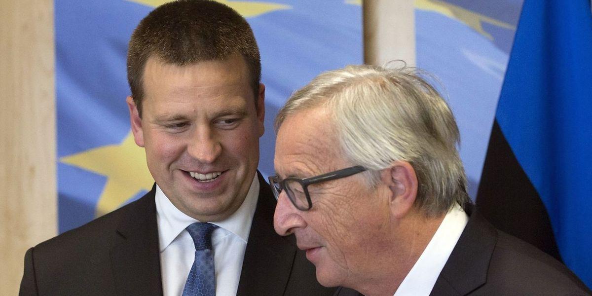 Le Premier ministre estonien, Juri Ratas, semble une nouvelle fois inviter le président de la Commission européenne, Jean-Claude Juncker, à emboîter le pas de son pays vers 100% de numérisation