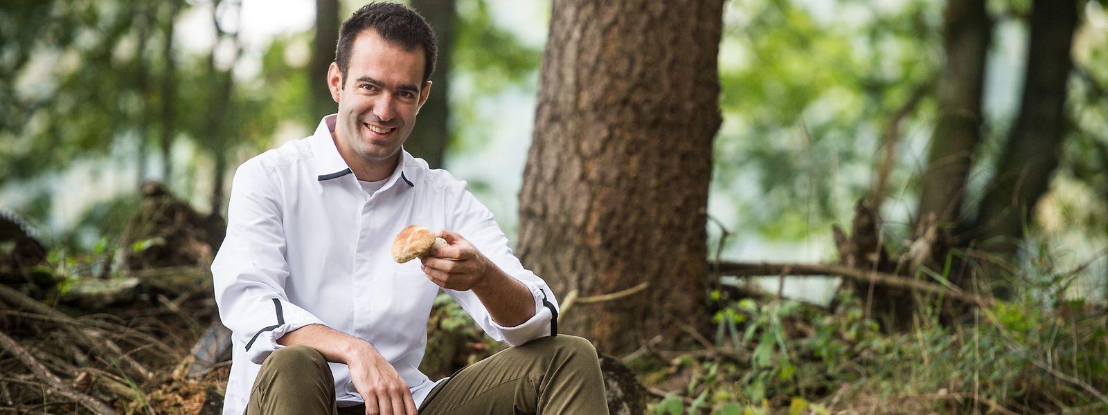 """Sternekoch Maxime Collard aus Our zählt zum Verbund """"Generation W"""", der sich für regionale Produkte stark macht."""