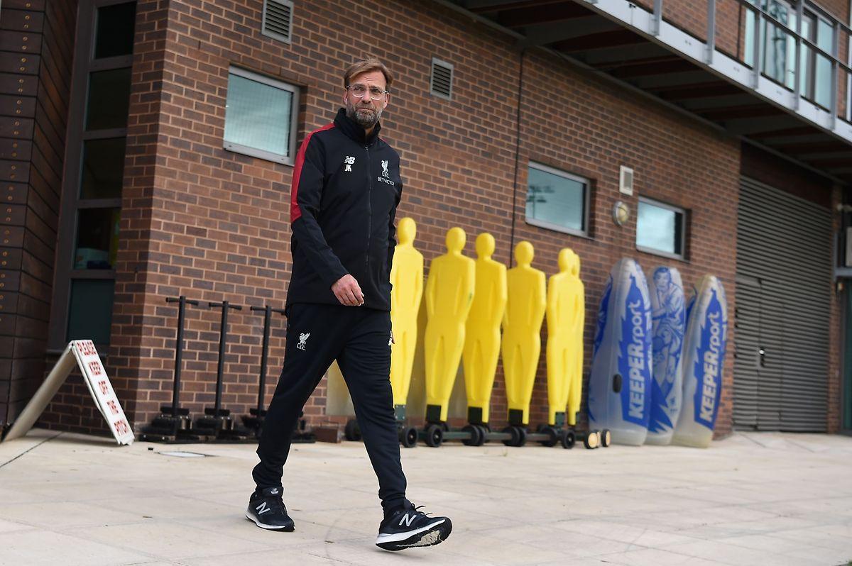 Liverpool-Trainer Jürgen Klopp sieht sein Team nicht als Favorit im Wettbewerb.