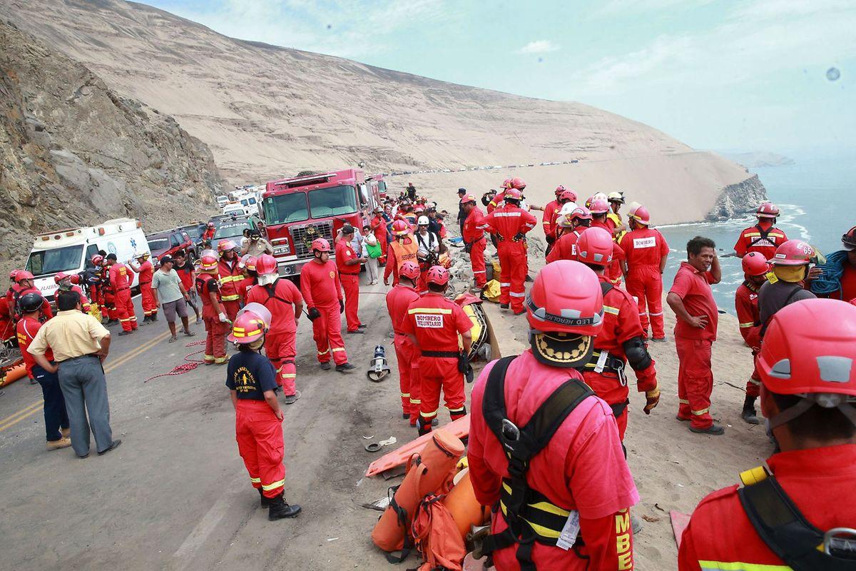 Den Rettungskräften bot sich ein Bild des Grauens.