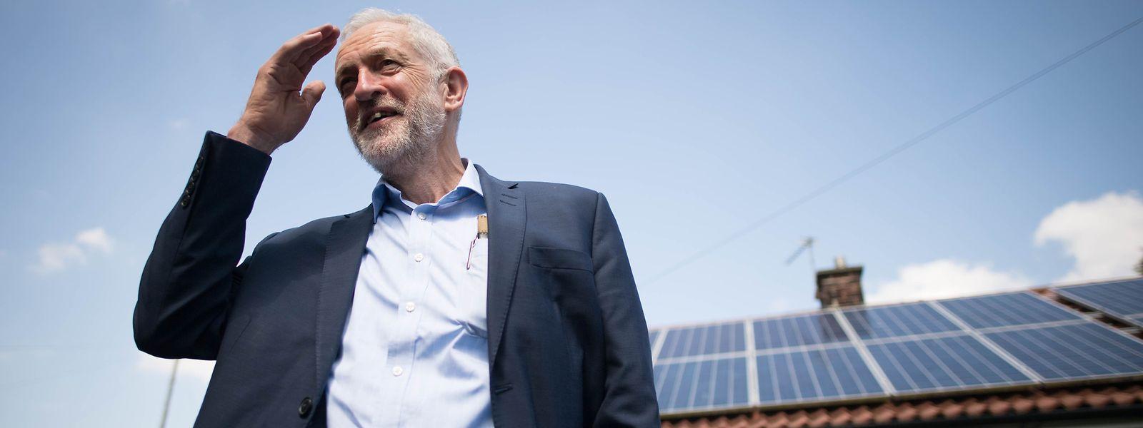 Jeremy Corbyn, Vorsitzender der Labour-Partei in Großbritannien.