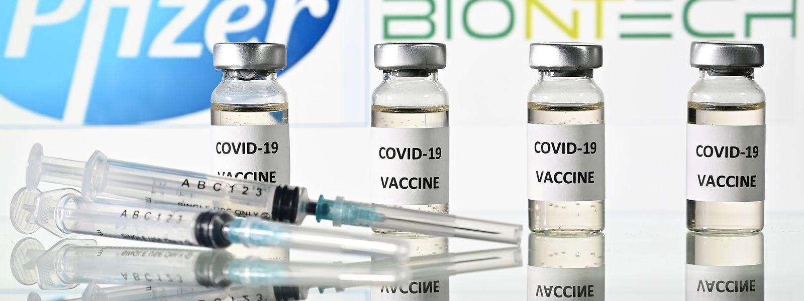 Das Serum von Pfizer und Biontech könnte schon bald zugelassen werden.