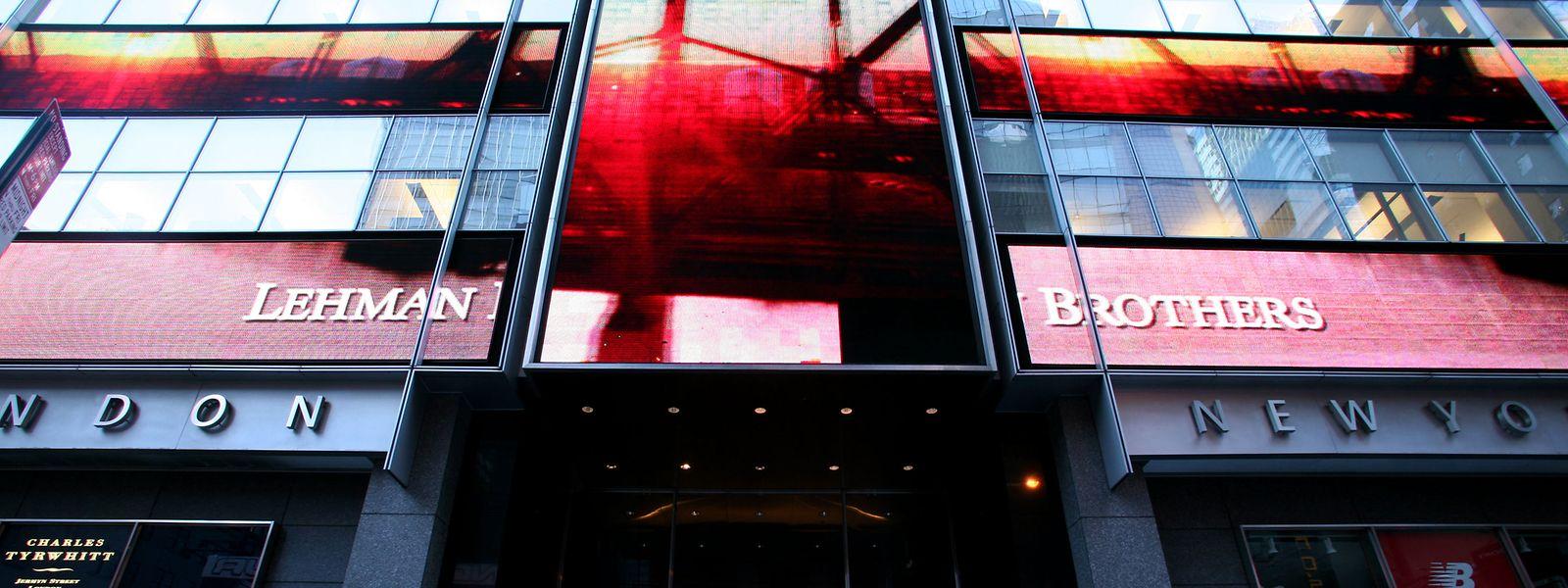 Im September 2008 musste die US-Investmentbank Lehman Brothers Insolvenz anmelden.