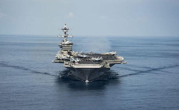 Flugzeugträger-Verband binnen Tagen in Gewässern vor Nordkorea