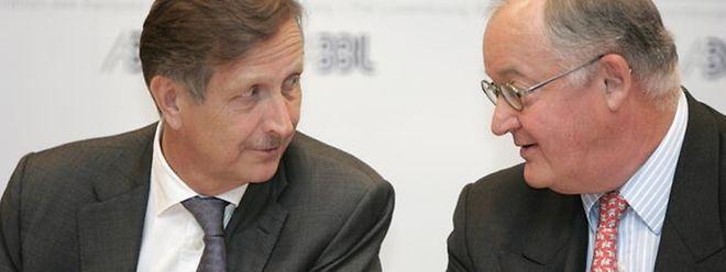 Carlo Thill président le comité de direction de la BGL et est également vice-président de l'ABBL (association luxembourgeoise des banques et banquiers, Luxembourg).