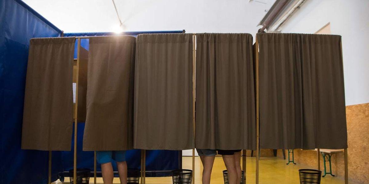 Nur untergeordnetes Interesse scheinen die Franzosen an der Parlamentswahl zu haben.