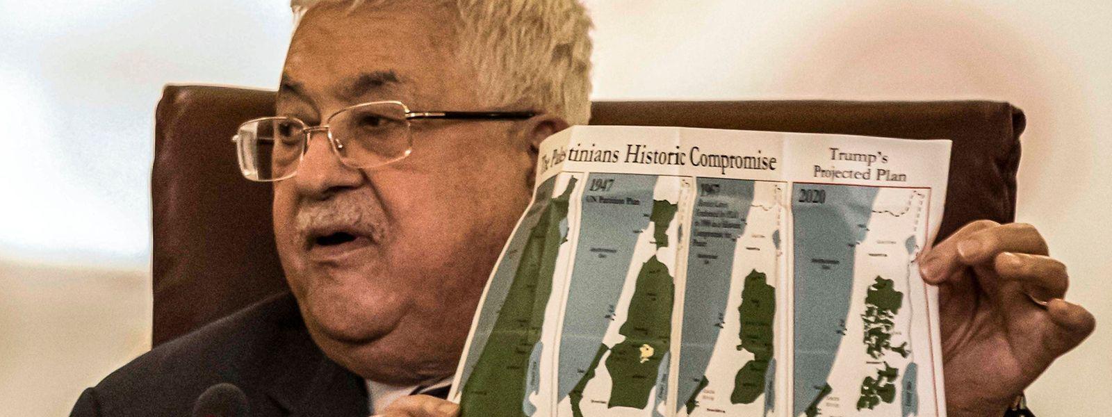 Mahmud Abbas, presidente palestiniano