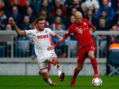 Doch kein Comeback: Arjen Robben (r.) ist erneut verletzt.