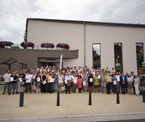 Fortbildungskurse der Landakademie - Überreichung der Zertifikate in Eischen