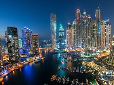 The Marina area of Dubai