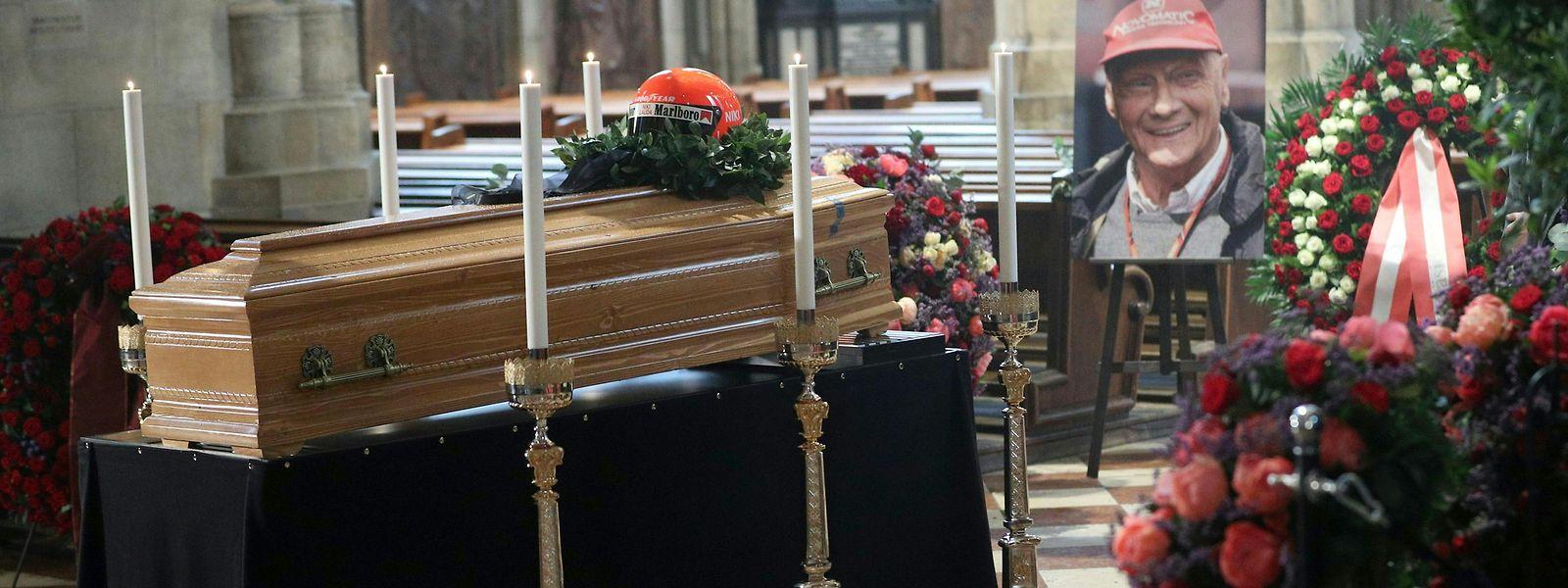 Der dreimalige Formel-1-Weltmeister Niki Lauda ist am 20. Mai gestorben.