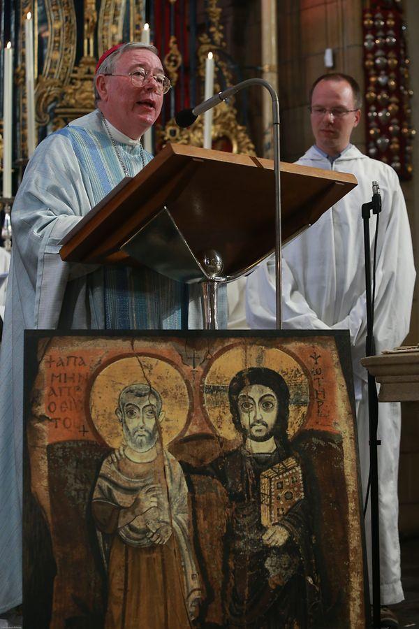 Erzbischof Jean-Claude Hollerich stand der Messe vor.