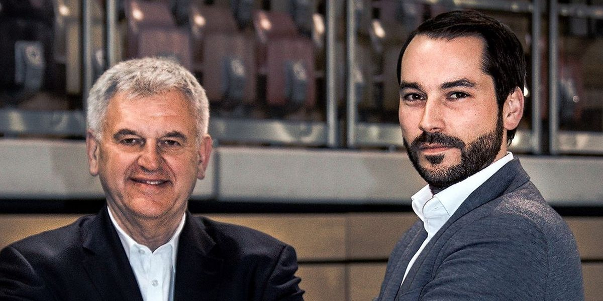 Christian Jung (r.) wird neuer Generaldirektor der Coque. Gilbert Neumann (l.) geht am 1.Oktober in Rente.