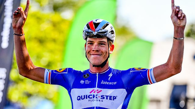Bob Jungels (Quick-Step) sichert sich einen weiteren Landesmeistertitel - Landesmeisterschaften - Straßenrennen - Elite Männer - Foto: Serge Waldbillig