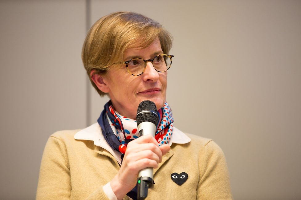 Christiane Wickler (pictured), CEO of the Pall Centre and President of the Federation of Women CEOs in Luxembourg, described her own experiences and provided advice.
