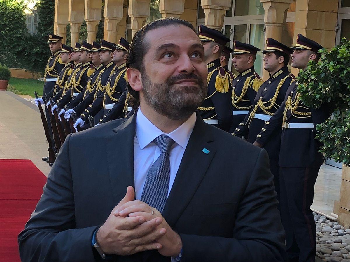 Le légendaire Hariri après l'éminente visite: c'était un bon jour....