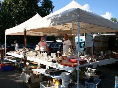 An insgesamt 270 Verkaufsständen boten die Teilnehmer ihre Waren an.