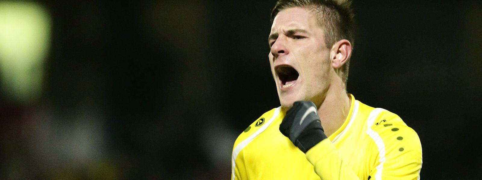 David Turpel schoss den F91 mit zwei Toren zum 3:1-Sieg in Niederkorn.