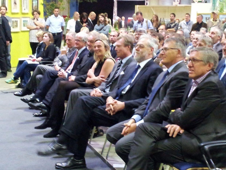 Zur Eröffnung waren viele Ehrengäste geladen, darunter auch Großherzog Henri.