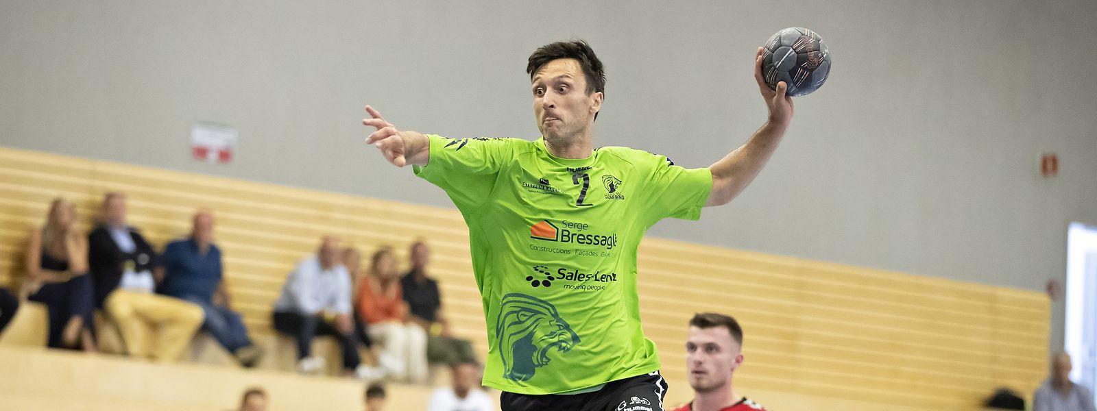 Vladimir Temelkov hat Käerjeng zum Einzug in die nächste Runde verholfen.