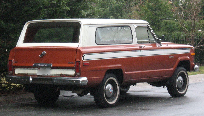 Die Anfänge des Jeep Cherokee im Jahr 1974...