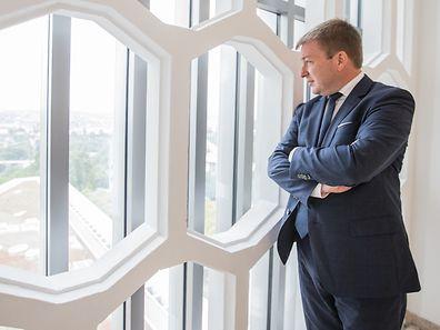 Zuversichtlicher Blick: Wohnungsbauminister Marc Hansen.