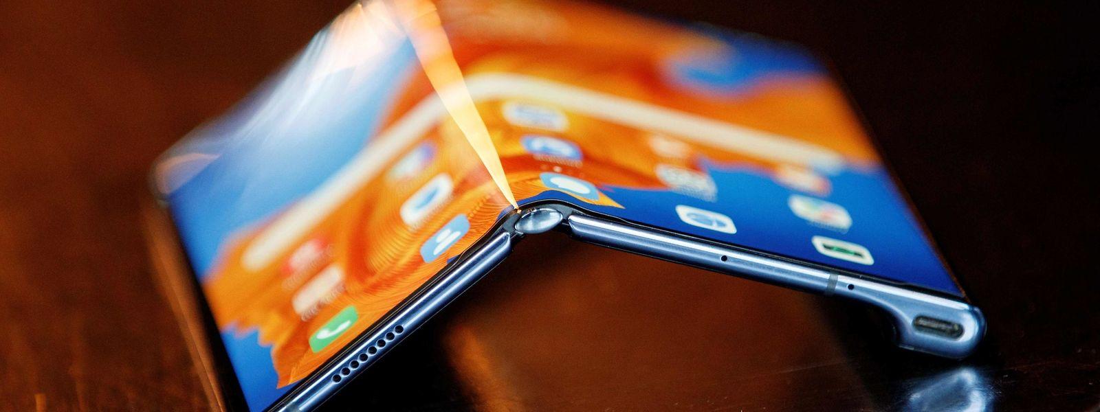 """Huawei präsentiert mit dem """"Mate Xs"""" einen Vertreter der neuen Generation von Faltsmartphones."""