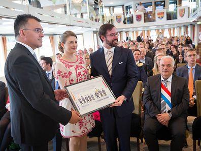 Les festivités des 125 ans de la dynastie Luxembourg-Nassau à Schengen