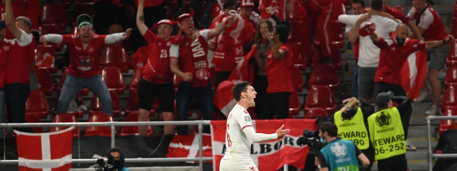 Andreas Christensen erzielt das vorentscheidende 3:1.