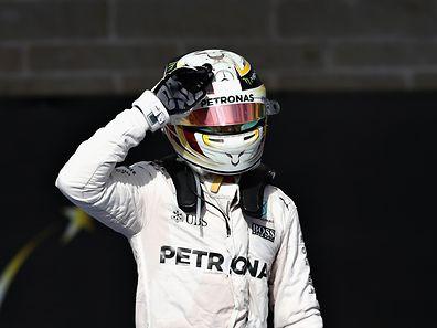 Lewis Hamilton zeigte in Austin eine starke Leistung.