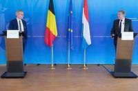 Politik, Pressekonferenz, Francois Bausch und Georges Gilkinet, Foto: Chris Karaba/Luxemburger Wort