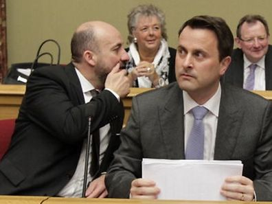 10.12.13 declaration du premier ministre xavier  bettel a la chambre des deputes, phot marc wilwert
